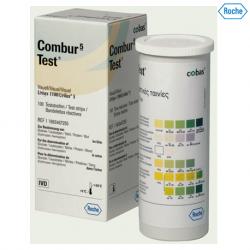 Roche Combur 5 Urine Test Strips, 100s/bottle