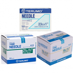 Terumo Disposable needles 19G/21G/23G/27G/30G (100pcs/Box)