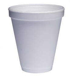 Comfort Plus Foam Cups-White, 6 Oz (50pcs/pkt, 20pkt/carton)