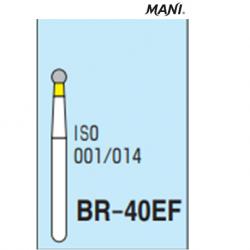 MANI Diamond Bur Ball Round,Extra Fine BR-40EF (5pcs/pack)