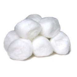 Cotton Balls Non-Sterile 0.5gms, (100pcs/pack)