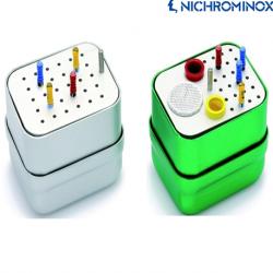 Nichrominox Aluminium Endo Micro Box/File Holder