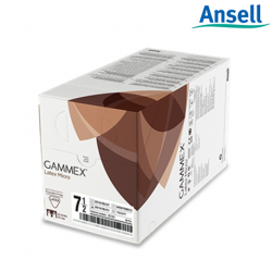 Ansell Gammex Latex Micro Surgical Gloves Powder Free (40Pairs/Box)