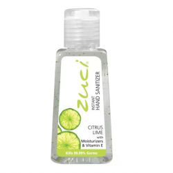 Zuci Hand Sanitizer Citruslime,Ethanol Alcohol 70% 30ml