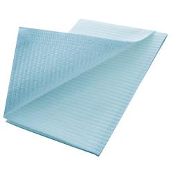 Disposable Dental Bib, Blue, 500pcs/ctn