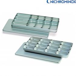 Nichrominox Aluminium Compartment boxes