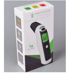 Digital Forehead and Ear Thermometer (2-in-1) Infrared Thermometer