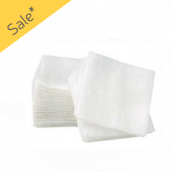 Dental Non-Woven Gauze, (5X5cm) 4-ply in 200pcs/sleeve