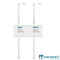 Medesy Bone Curette Miller  #660 No.9/10