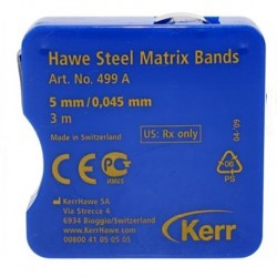 Hawe Steel Matrix Bands - 0.045mm in thickness