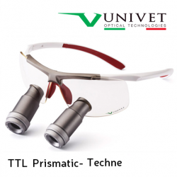 Univet TTL Prismatic Techne Surgical Loupes