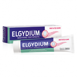 Elgydium Irritated Gums Toothpaste 75ml ( X8 Packs )