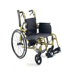 Ultimate Transfer Wheelchair Fitted with both Left and Right retractable rear wheels