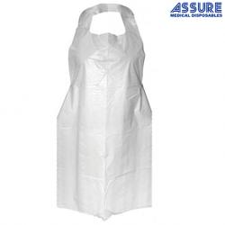 Assure Plastic Apron 120CM, 100 Pieces /Box