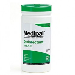 Medipal Alcohol Free Disinfectant Wipes Canister Pack of 200