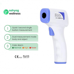 Suhyog Wellness Non Contact Infrared Forehead Digital Thermometer