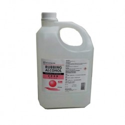 Rubbing Alcohol - Isopropyl Alcohol 70% v/v (4 Litre Jar)
