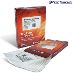 Ortho Technology TruFlex Copper Nickel Titanium Universal Form Archwire- Round W/Stops- Individually Packaged