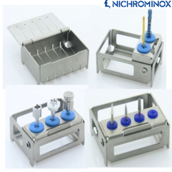Nichrominox Module/ Holder for Implantology Instruments