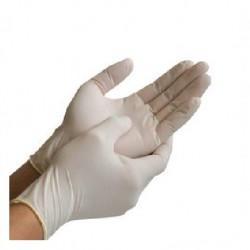 Maxicom Latex Examination Gloves, Pre- powdered (100's), Large