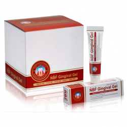 NBF Gingival Gel, Gingival Protection Gel, 30 grams, 20 tubes/Box