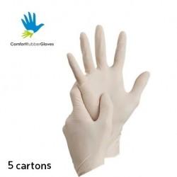 Comfort Latex Examination Gloves Powder-Free (5 Carton)