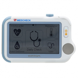 MedCheck Vital Signs Monitor with Bluetooth