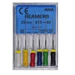 Mani Reamers Assorted #15-40 (6pcs/pack)