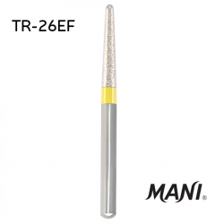 Mani Diamond Bur, TR-26EF, 5pcs/pack