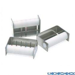 Nichrominox White Bur Dispenser/bur Holder 5-holes