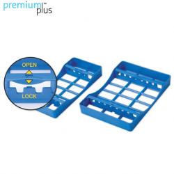 Premium Plus Plastic Sterilization Cassettes Medium, 8 instruments