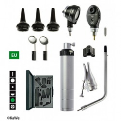 KaWe Basic Diagnostic Set - Combilight Otoscope, Eurolight Opthalmoscope