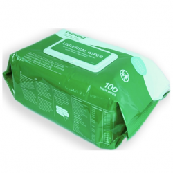 Biocide Clinell Wipes 100, 100pieces/pack