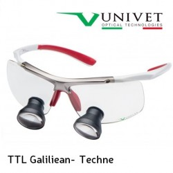 Univet TTL Galiliean Techne Surgical Loupes