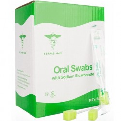 Oral Swab Stick with Sodium Bicarbonate, Box/100s