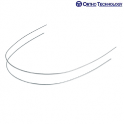 Ortho Technology TruFlex Nickel Titanium Full Form Archwire Etched Midline-Rectangle