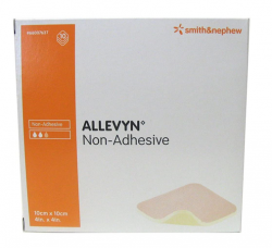 Smith & Nephew Allevyn Non Adhesive 10cm X 20cm, 10pc/box