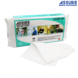Assure Wet Wipes 40X, 40 Pack
