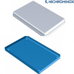 Nichrominox Non-perforated Aluminium Instrument tray