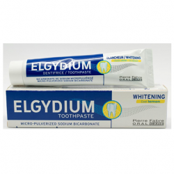 Elgydium Whitening Cool Lemon Toothpaste 75ml ( X 8 Packs )