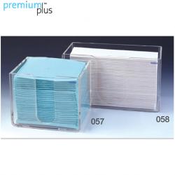 Premium Plus Bib & C-Fold Towel Dispenser