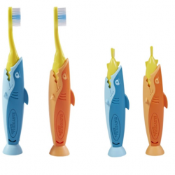 Elgydium Kids ( 2 - 6 yrs) (Shark) Toothbrush ( X8 Packs )