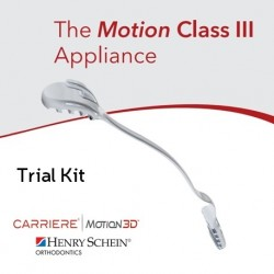 Carriere Motion Class III Orthodontic Appliance - Trial Kit