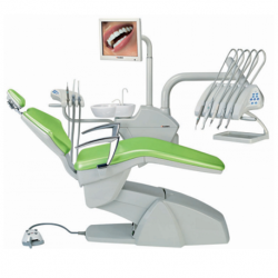 Swident Dental chair with swinging hoses (Partner International Version)