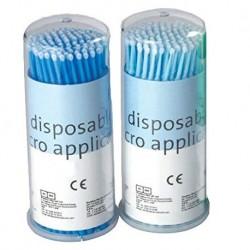 Premium Plus Microbrush Applicators, 400pcs/Box, Ultra-Fine
