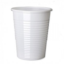 Comfort Plus Plastic Cups-White, 7 Oz (50pcs/pkt, 40pkt/carton)