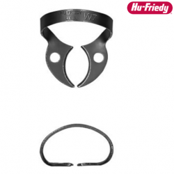 Hu-Friedy Rubber Dam Clamp, Black Line For Distal Access To Molars