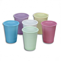 7oz. Plastic Cups Coloured (2000pcs/carton)
