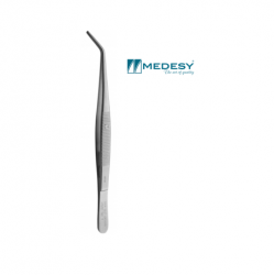 Medesy Tweezer With Lock Grooved #1019