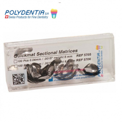 Polydentia Contoured sectional matrices (Premolar and Molar)